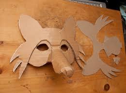 mascara de madera