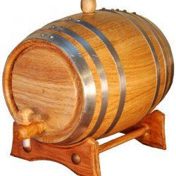 Barrile artesanal para el almacenamiento de bebidas alcoholicas