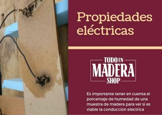 Propiedades electricas de la madera