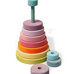 torre conica pastel