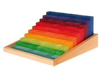 pila de bloques multi colores