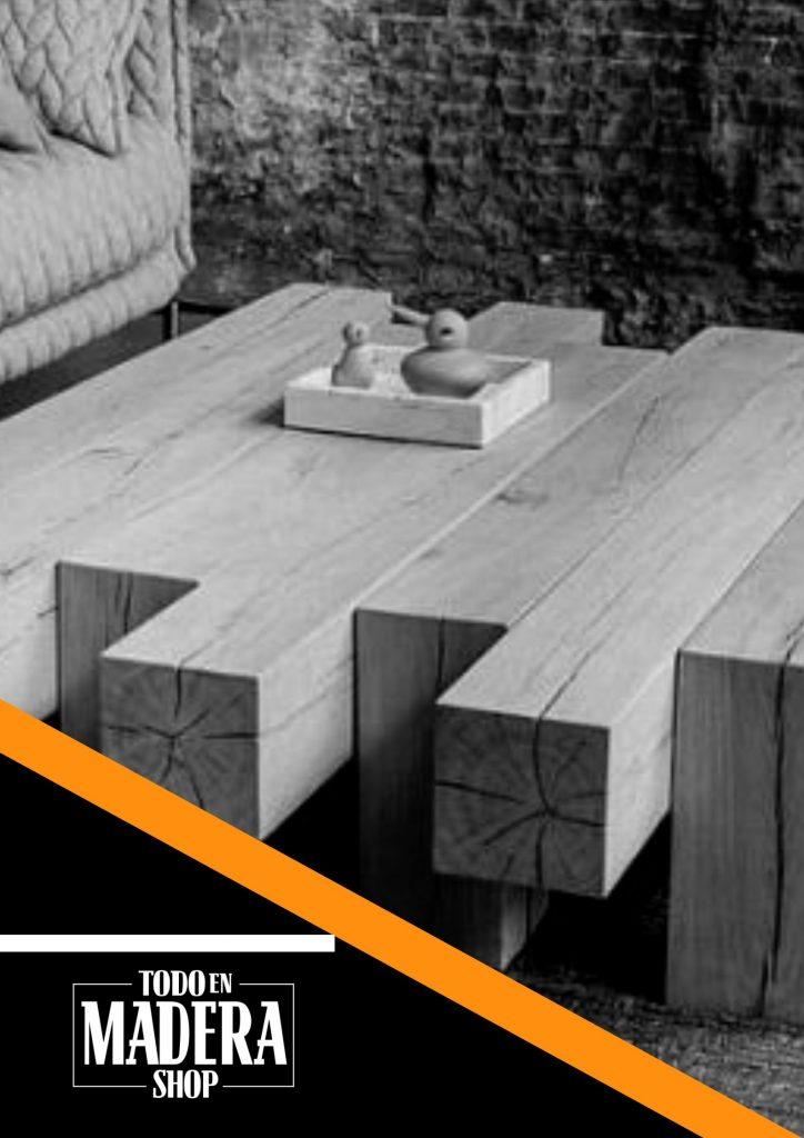 mesa con diseno moderno