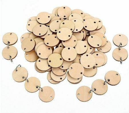 100-piezas-discos-de-madera-redondos-con-agujeros