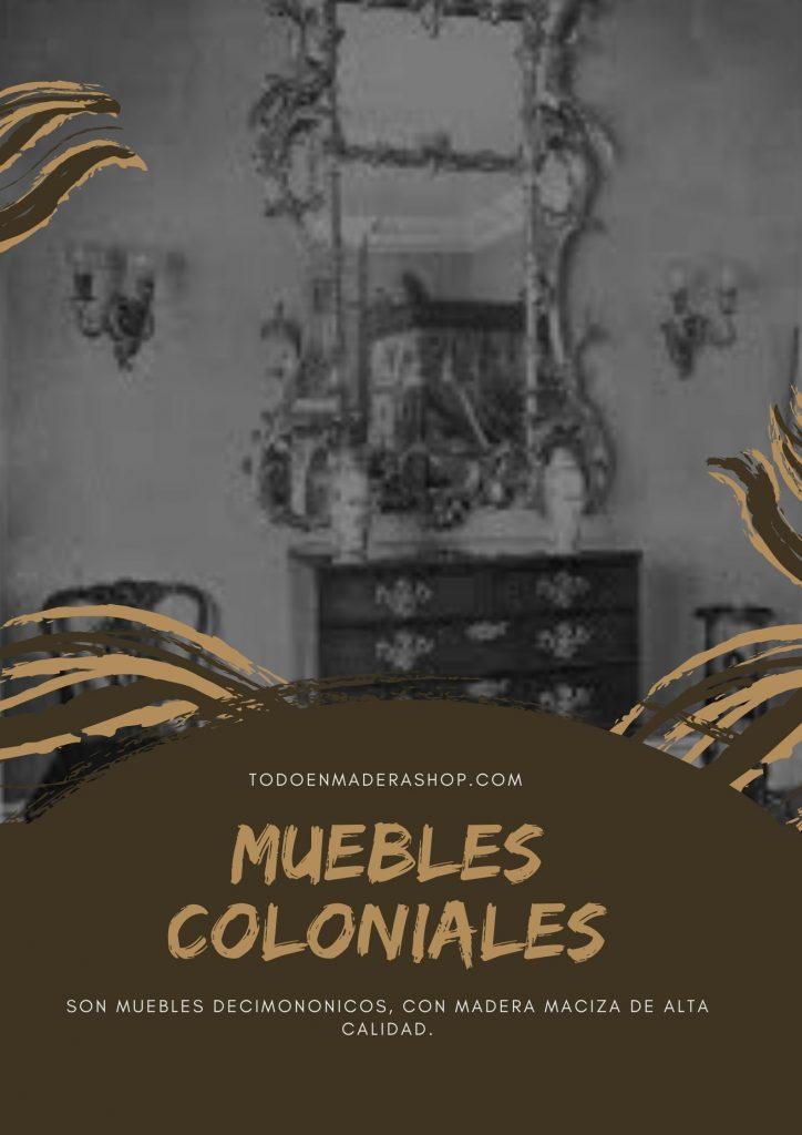 muebles-de-madera-coloniales
