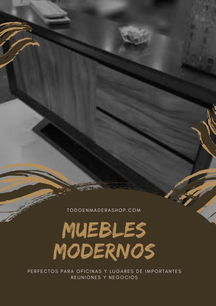muebles-de-madera-modernos