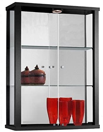 vitrina-mueble-de-pared-negro-con-2-estantes-de-vidrio